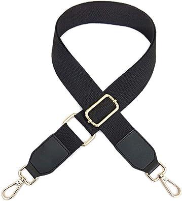Purse Straps Striped Wide Shoulder Strap Adjustable Replacement Crossbody Handbag Straps