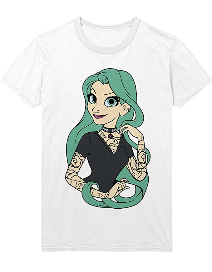 Hypeshirt Tank-Top Tattooed Fairy Tale Characters Arielle Pirate C980506