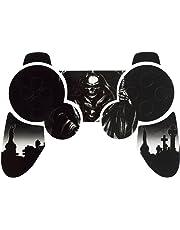 PlayStation 3 PS3 Controller Sticker - Aufkleber Schutzfolie Skin für Sony Playstation DualShock 3 Wireless Controller Reaper Black