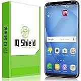 Galaxy S8 Screen Protector (Not Case Friendly), IQ Shield LiQuidSkin Full Coverage Screen Protector for Galaxy S8 HD Clear Anti-Bubble Film