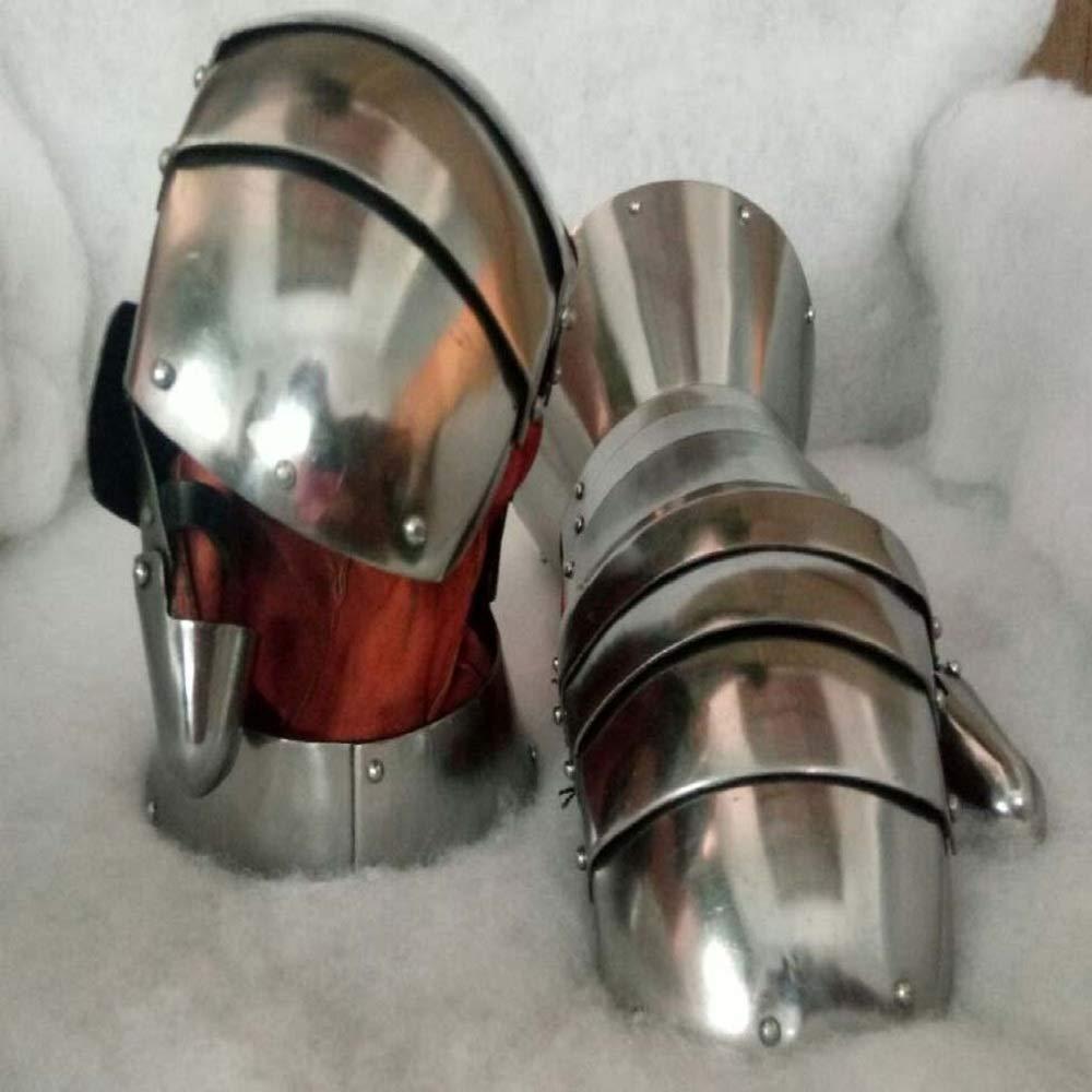 Trinity arms Functional Medieval Reenactment SCA Milanese Gauntlets 16G Steel Mitten LARP