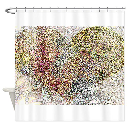 CafePress particles Shower Curtain Decorative
