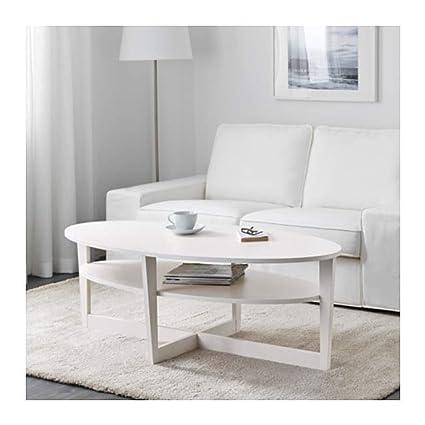 Pleasing Amazon Com Ikea Vejmon Coffee Table White 402 910 78 Size Bralicious Painted Fabric Chair Ideas Braliciousco
