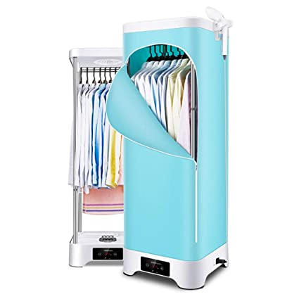 LQYSHOP Tendedero eléctrico, secador de Ropa Inteligente (Plegable) PTC + secador de Ropa