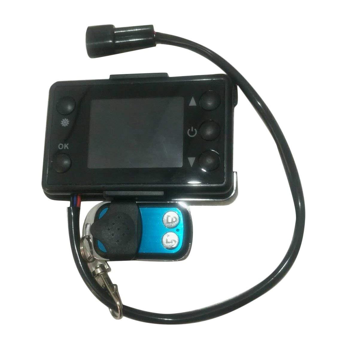 KiGoing 12V/24V LCD Monitor Parking Heater Switch Heater ...