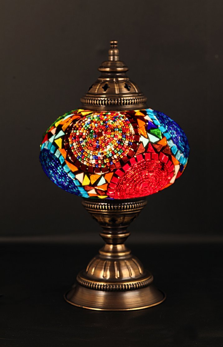 Table Lamp,Lamp Shade,Arabian Mosaic Lamps, Moroccan Lantern,  Chandelier,Turkish Light, Hanging Lamp, Mosaic Lighting,Flooring Light:  Amazon.ca: Tools ...