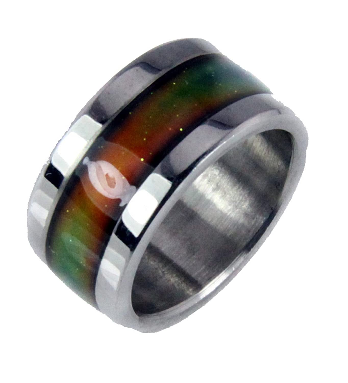 Amazon s16 stainless steel mood ring endless band rainbow amazon s16 stainless steel mood ring endless band rainbow colors jewelry nvjuhfo Gallery