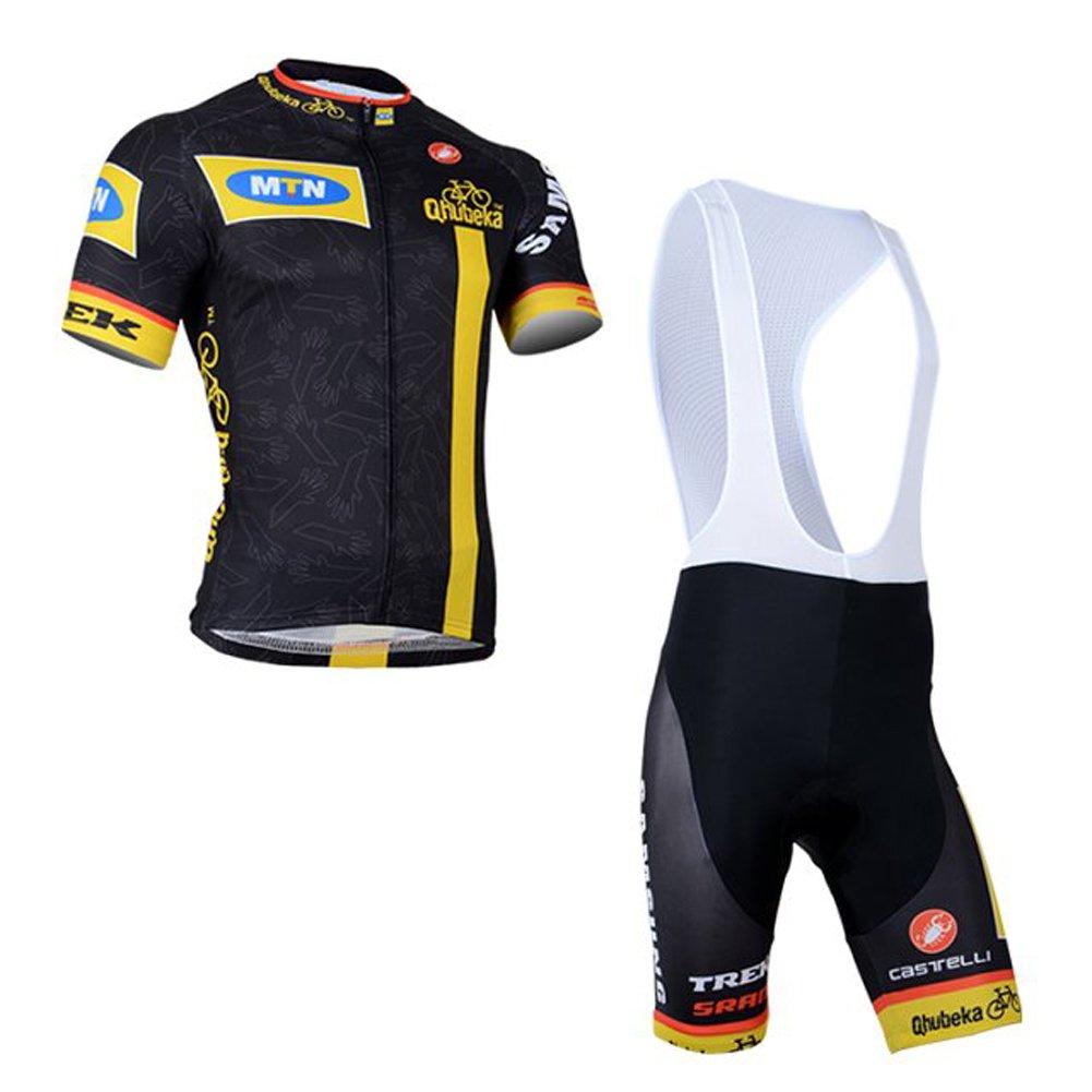 uonoメンズショートスリーブチームサイクリングジャージージャケット自転車バイクシャツ B01DLMEHI4  カラー13 Small