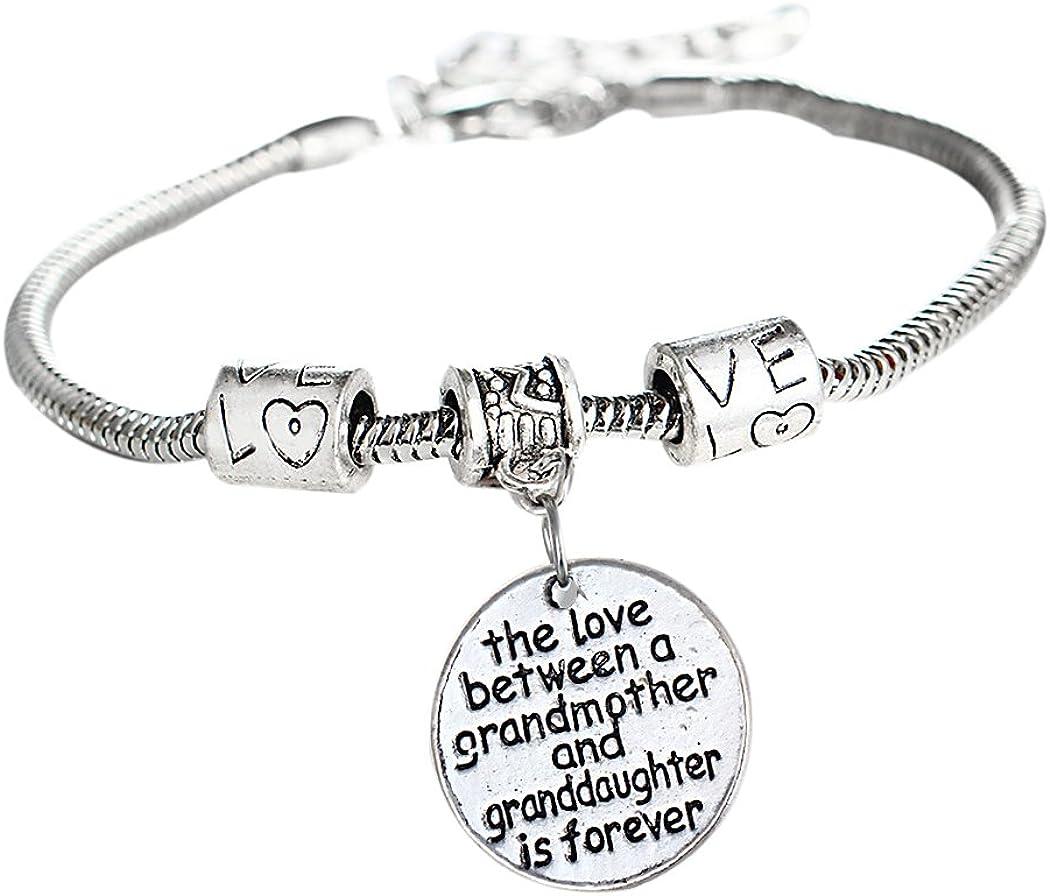TOOKY Round Pendant Chain Charm Bracelet Bracelet Series Jewelry Gift