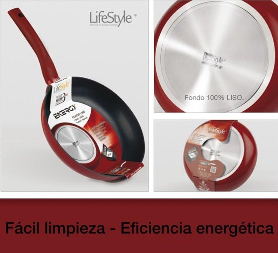 Lifestyle - Sarten aluminio energy inducción - 28 cm