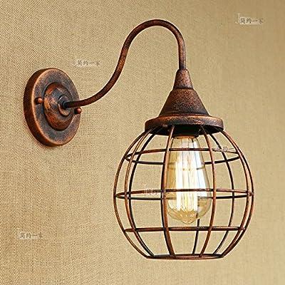 Loft Chevet Theme Chambre L'american Retro Lampe Industriel De Style 9IHEWD2