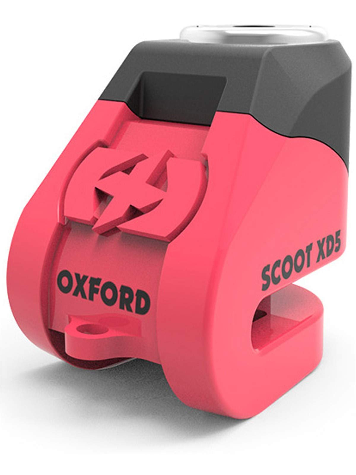 Oxford Pink Scoot Xd5 Disc Motorcycle Lock (Default, Pink)