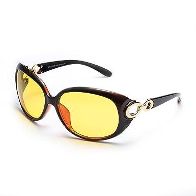 Mode Sport Sonnenbrille Autofahren für Herren mit Ultra Leicht Metallrahmens Polarisierten Entspiegelten 100% UV400 Schutz (Braun) raP2kficJ7
