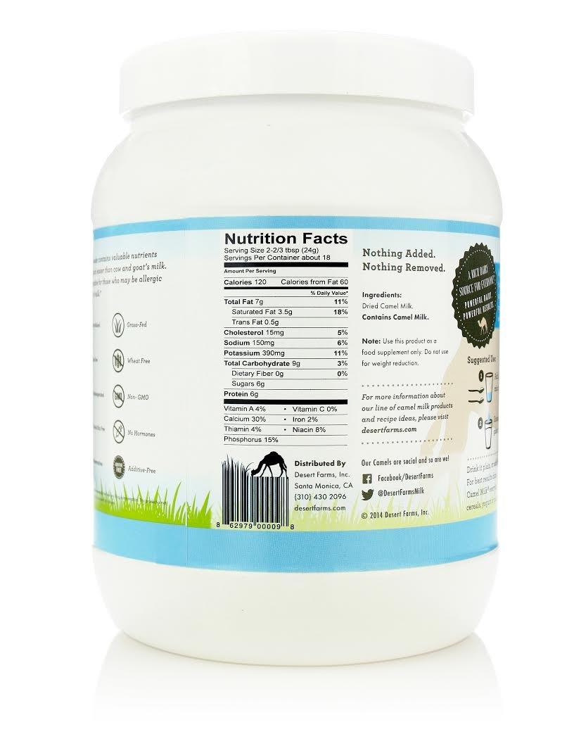 Desert Farms Camel Milk Powder by Desert Farms (Image #4)