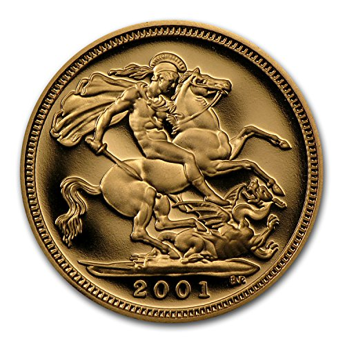 1980 UK - 2014 Great Britain Gold 1/2 Sovereign Elizabeth II BU/Proof Gold Brilliant Uncirculated