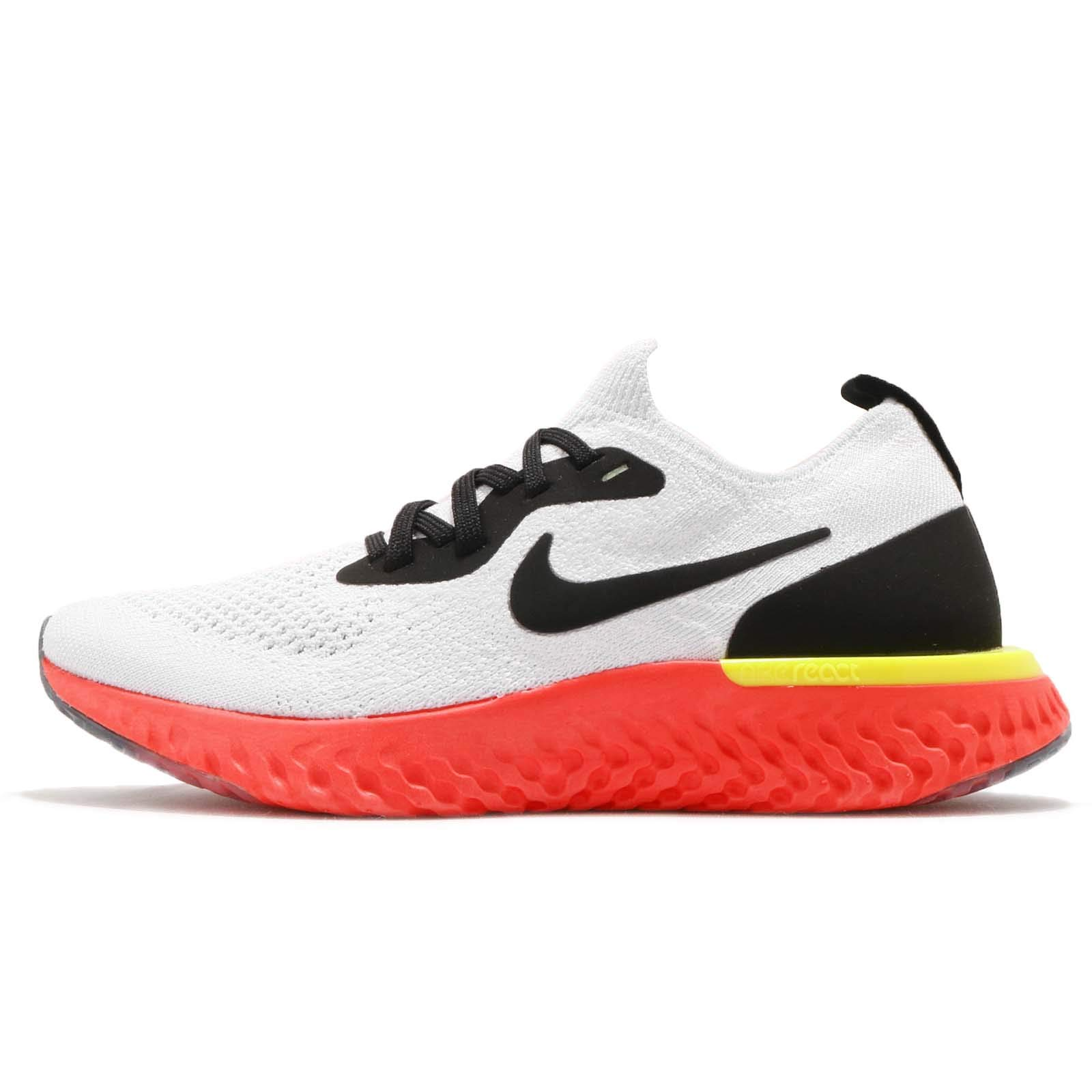 Nike Epic React Flyknit GS NIKE Epic React Flyknit (gs) Big Kids 943311-103 Size 4.5 on ...