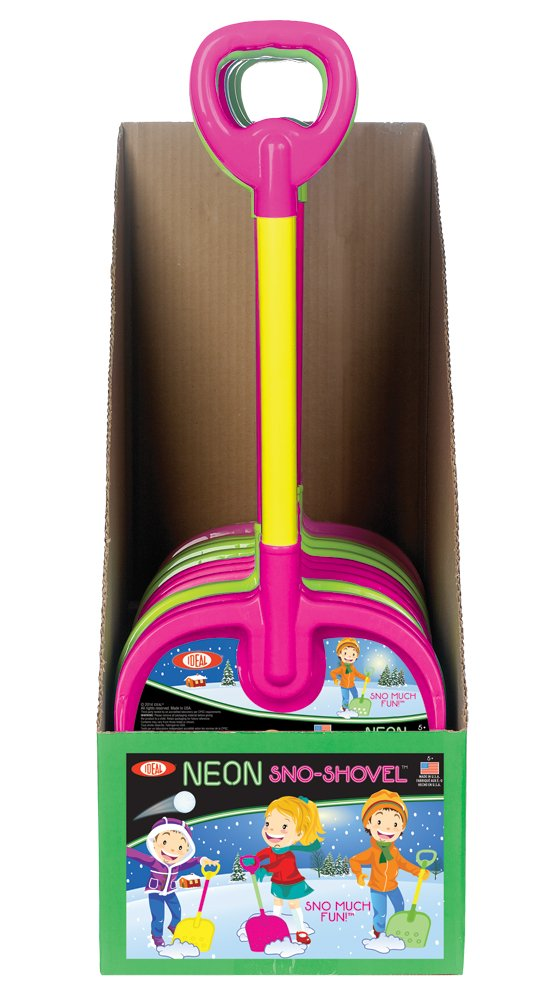 Ideal Neon Sno-Shovel Poof Slinky 0C9-8352TL