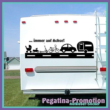 Hochwertige Wohnwagen Wohnmobil Aufkleber Spruch Immer