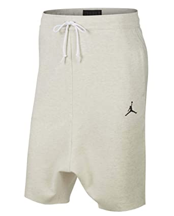e118a85a400574 Nike Jordan Men s Russell Westbrook RW X JSW Fleece Shorts-Tan at Amazon  Men s Clothing store