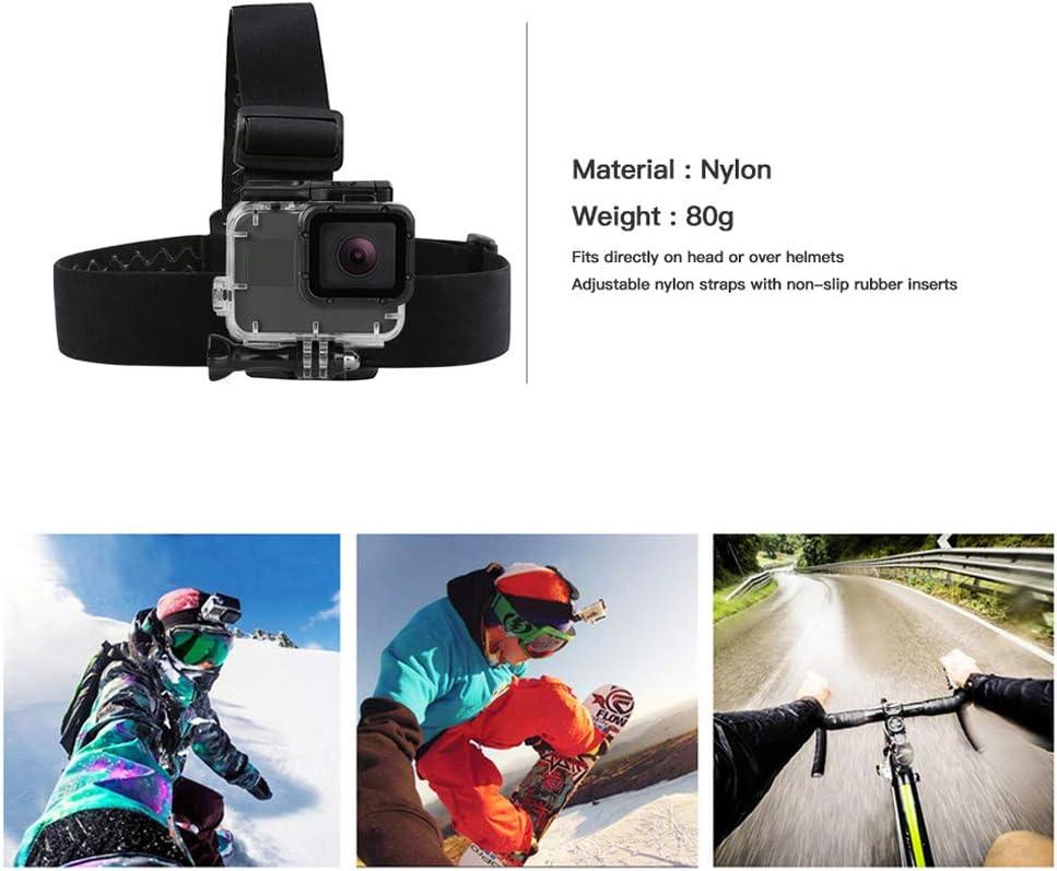Helmet Harness Head Strap for GoPro Hero 7 5 6 4 Session Xiaomi Eken Sjcam SOOCOO Strap Mount Go Pro Accessory