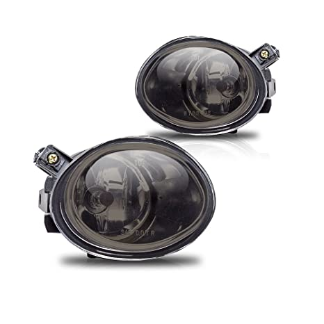 Amazoncom 0105 BMW E46 OEM Fog Lights Smoke Lens Pair Automotive