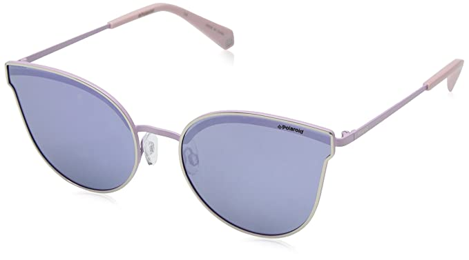 1f9b6909cd29 Polaroid Women s PLD 4056 S MF PLD 4056 S MF 3YG 58 Rectangular Sunglasses  58