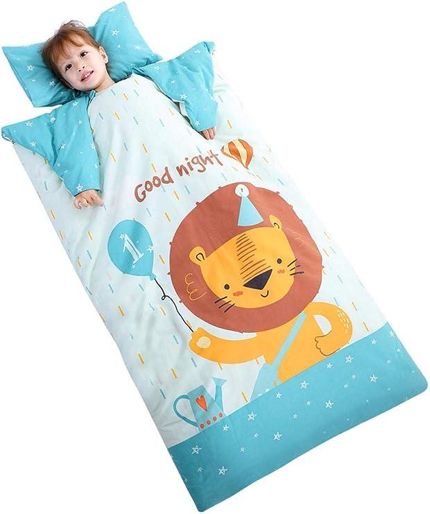 saco de dormir Saco de dormir para bebés edredón antideslizante para niños otoño e invierno grueso edredón de algodón saco de dormir 60 * 100 cm niños: Amazon.es: Bebé