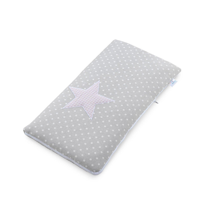 Funny Baby Codream - Saco-colcha minicuna colecho, diseño topos estrella, color rosa 626963
