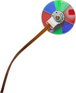 HCDZ Color Wheel for Mitsubishi Electric WD-73738 WD-82738 WD-65638 WD-73638 WD-82838 WD-73C12 WD-73742 WD-60638 DLP Home Cinema HDTV TV