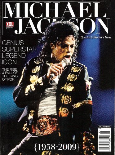 Fall Icon - XXL Michael Jackson Magazine Genius Superstar Legend Icon the Rise and Fall of the King of Pop