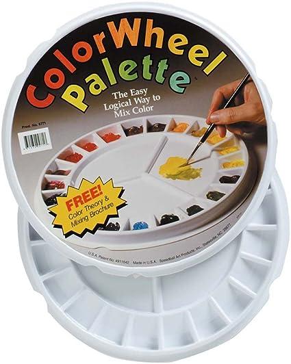 Amazon Speedball Spd 5771 Color Wheel Palette