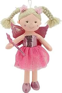 Sweety Toys 11803 - Muñeca de Peluche (45 cm), diseño de Hada, Color Rosa