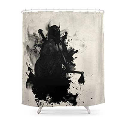 Image Unavailable Not Available For Color MAOXUXIN Viking Shower Curtain