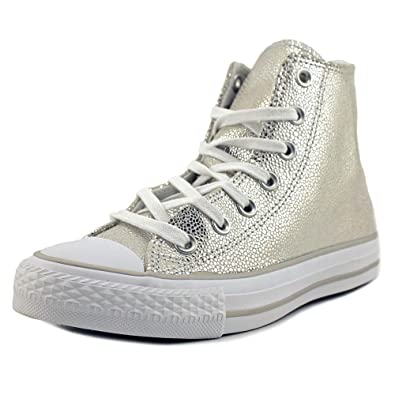 50be05453daa Converse 553346C Women Chuck Taylor All Star Stingray Pure Silver Black  White