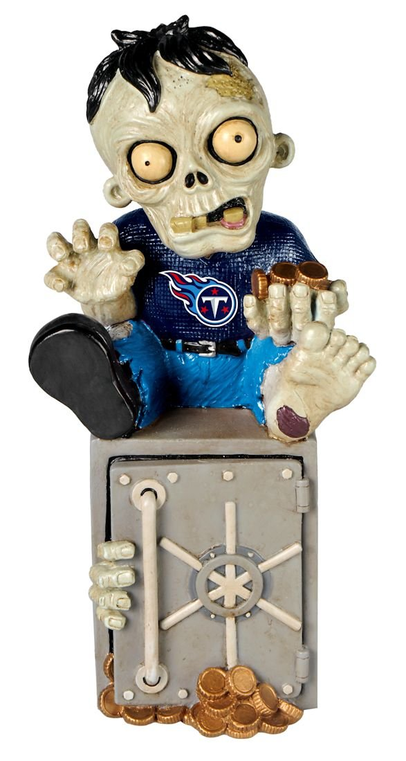 (Tennessee Titans) - Zombie Figurine Bank   B00NTR6G18
