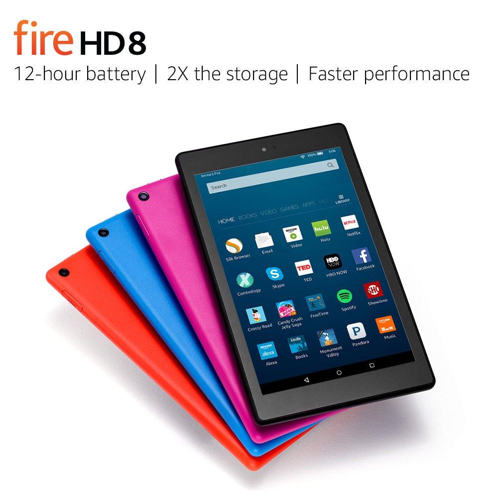 Amazon Fire HD 8 Tablet, $69.9...
