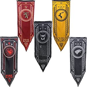 Game of Thrones Tournament Banners 5 pc. Set