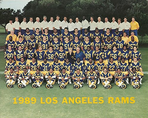 1989 LOS ANGELES RAMS UNSIGNED TEAM 8x10 (Unsigned Los Angeles Rams)