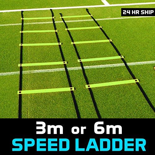 Net World Sports 20ft SPEED LADDER [FLAT RUNG] Speed Practice (20ft Speed Ladder)