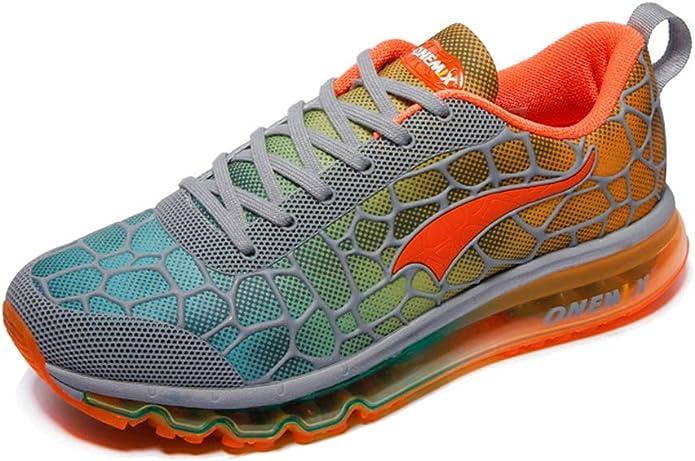 Zapatillas de deporte ligeras para correr con cojín de aire 3D para mujer: Amazon.es: Zapatos y complementos