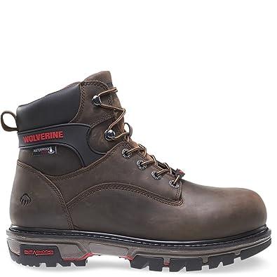 53f4401dc Wolverine Men's Nation 6 inch Insulated Waterproof Comp Toe-M Work Boot,  Dark Brown