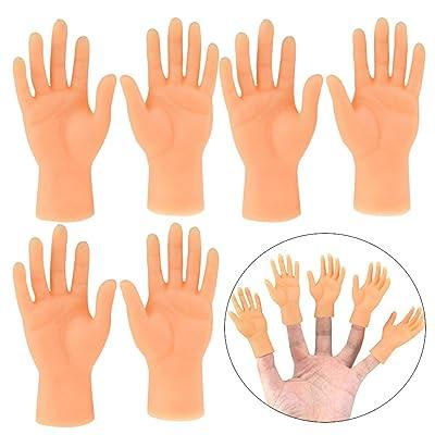 3 Sets Finger Hands Funny Creative Finger Toy Finger Puppet for Kids Adults: Everything Else