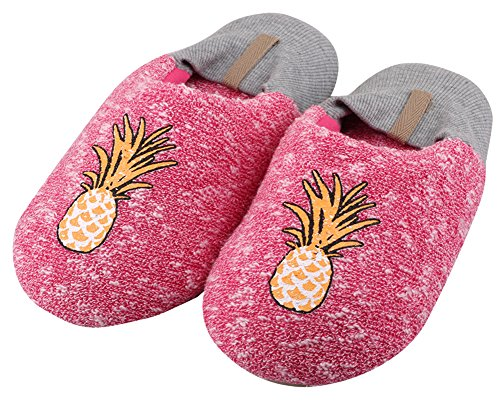 Kid's Womens Pineapple Family House Women's and Shoes Slippers Silent Cartoon Bootie Lovely 6wnHgOxqF