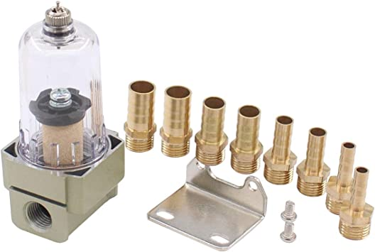 Car Engine Oil Separator Catch Reservoir Tank Can Filter Out Impurities Baffled