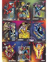MARVEL UNIVERSE 3 1992 IMPEL COMPLETE BASE CARD SET OF 200