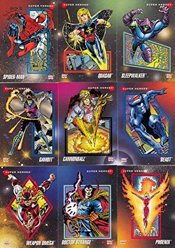 MARVEL UNIVERSE 3 1992 IMPEL COMPLETE BASE CARD SET OF 200 (B076DL6JX5)