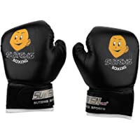 Dilwe Boxing Gloves, 1 Pair PU Leather Junior Boxing Fight Gloves for Students Family 3-10 Years Kids