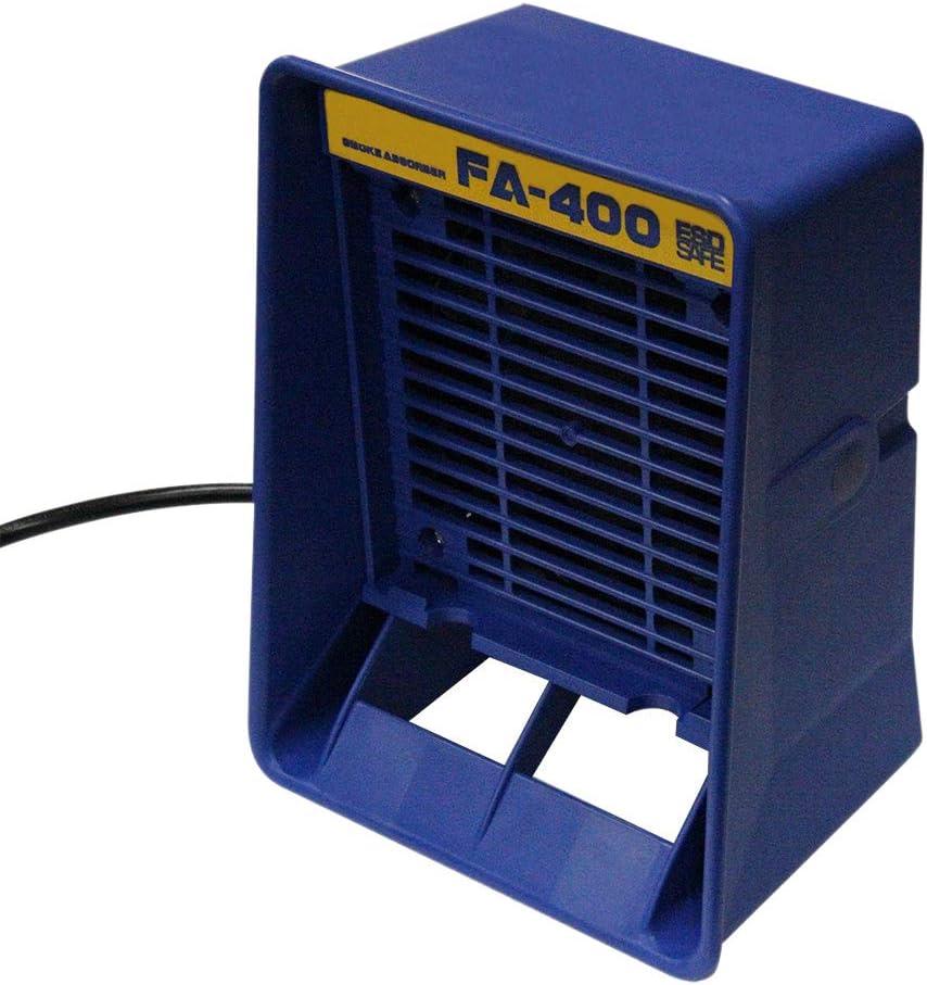 WOVELOT 220V Absorbeur De Fum/ée De Fer /à Souder Fa-400 Extracteur De Fum/ée Esd Avec Prise Eu De 10 Pcs Activ/ée Instrument Pour Fumer
