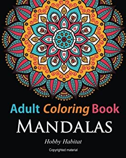 Adult Coloring BooksMandalas Books For Adults Featuring 50 Beautiful Mandala Lace