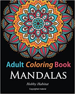 amazoncom adult coloring booksmandalas coloring books for adults featuring 50 beautiful mandala lace and doodle patterns hobby habitat coloring books - Amazon Adult Coloring Books
